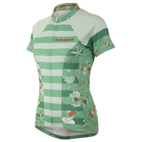 Pearl Izumi 2017 Women's Select Escape LTD Short Sleeve Cycling Jersey -  11221634 (Muse Green