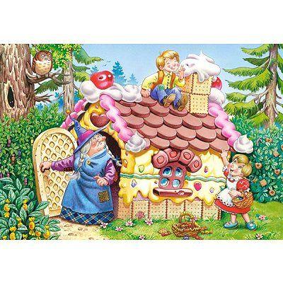 Hansel  Gretel, puzzle 25p, Castorland