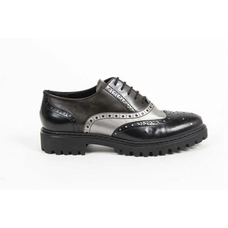 Multi Color 37 IT - 7 US Versace 19.69 Abbigliamento Sportivo Srl Milano Italia Oxford Shoe 5135 ABRASIVATO NERO