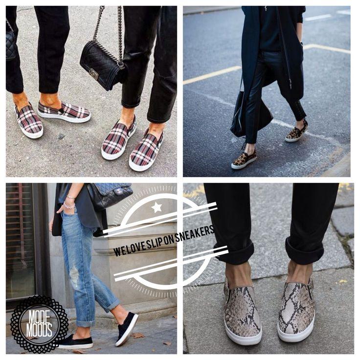 We love #slipons #sliponsneakers #modemoods. Bekijk www.modemoods.com voor budget-vriendelijke versies van deze spring 2014 trend www.modemoods.com