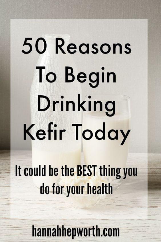 50 Reasons To Begin Drinking Kefir Today   It could be the BEST thing you do for your health   http://www.hannahhepworth.com