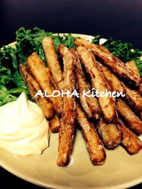 お箸が止まらない!簡単!ごぼうスティック by ALOHAキッチン [クックパッド] 簡単おいしいみんなのレシピが250万品