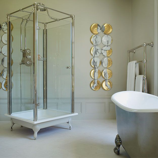 the spittal glass shower a complete shower unit which can stand