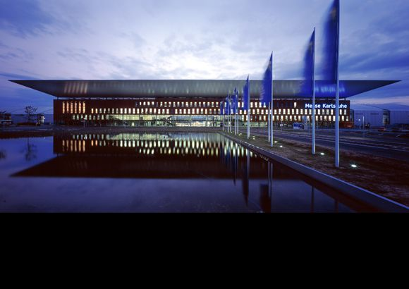 Neue Messe Karlsruhe - Gerber Architekten