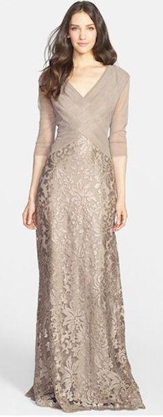 Beautiful Tadashi Shoji Sequin Gown http://rstyle.me/n/fe325r9te