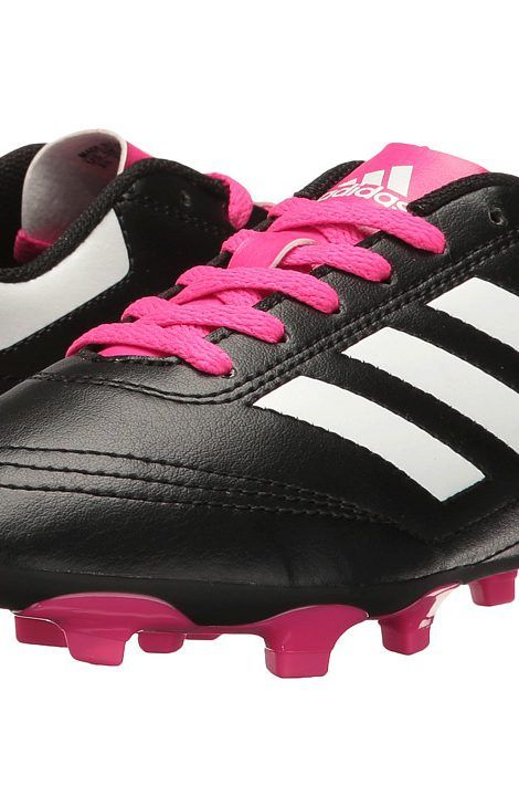 adidas Kids Goletto VI FG Soccer (Little Kid/Big Kid) (Core Black/Footwear White/Shock Pink) Kids Shoes - adidas Kids, Goletto VI FG Soccer (Little Kid/Big Kid), BB0571-001, Footwear Athletic Soccer, Soccer, Athletic, Footwear, Shoes, Gift - Outfit Ideas And Street Style 2017