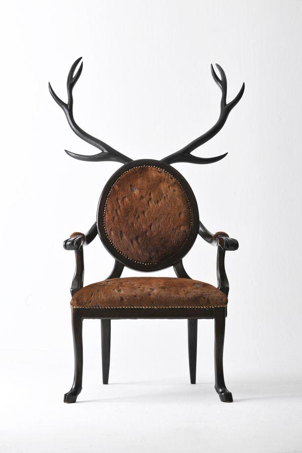 Des chaises design Louis XVI très bestiales