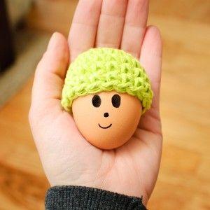 Free Crochet Pattern 80109AD Amigurumi Egg Cozy : Lion