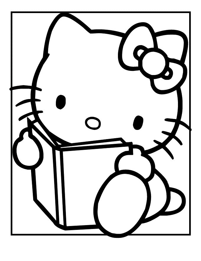 133 besten hello kitty coloring pages bilder auf pinterest. Black Bedroom Furniture Sets. Home Design Ideas
