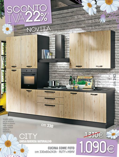 16 best images about arredamento cucina on pinterest for Cucina urban mondo convenienza