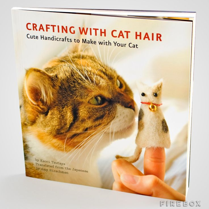 Crafting With Cat Hair Hahaha!  ;p