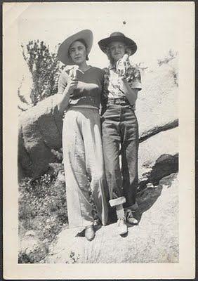 1940s Women's Denim Pants #TrueClad