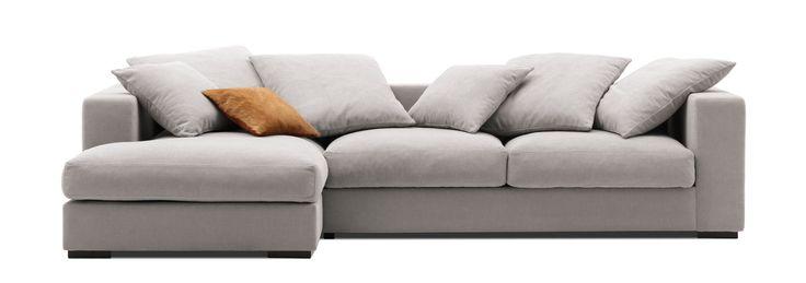 I Love this.  Modern design sofas - Contemporary design sofas from BoConcept
