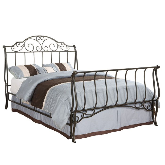 Kingstown Home Tristin Sleigh Bed & Reviews | Wayfair
