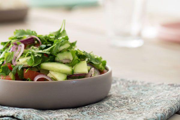 Indisk salat - Opskrift