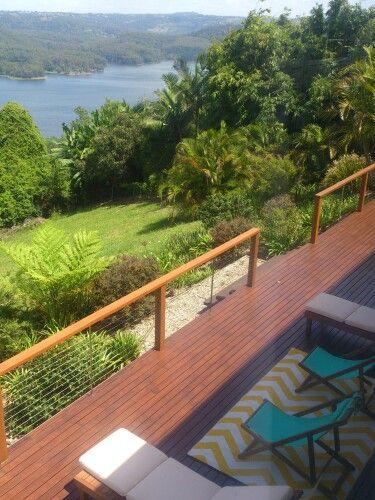 View deck n lake
