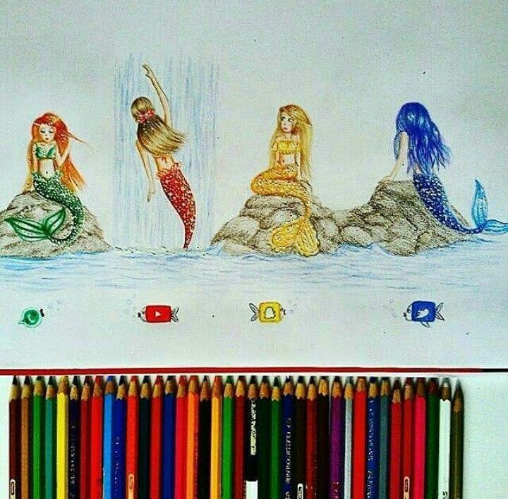 Sirens/ mermaids