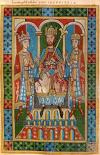 Frederick I Barbarossa (1122 – 10 June 1190) was a German Holy Roman Emperor. He was elected King of Germany at Frankfurt on 4 March 1152 and crowned in Aachen on 9 March 1152