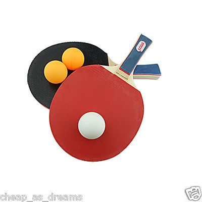 #Table tennis ping pong set 2 player #includes 3 balls two #paddle bats game set ,  View more on the LINK: http://www.zeppy.io/product/gb/2/262492505838/