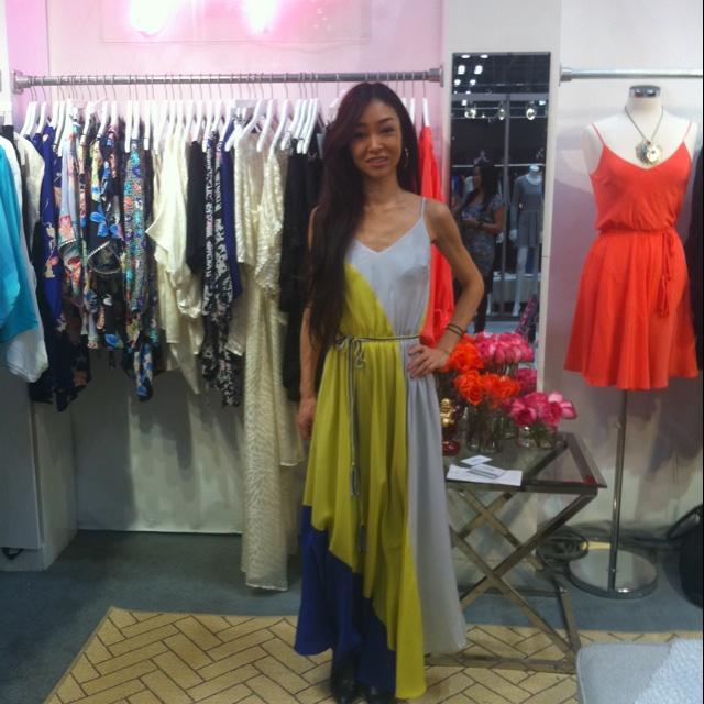 Yumi Kim Leon silk Maxi Dress  (^з^)-☆ my MUST maxi dress for spring & summer !!!! Every time I wear make me feel so beautiful...haaaaaaaa love spring.......    #YumiKim #LeonDress: Yumikim Leondress, Silk Maxi Dresses