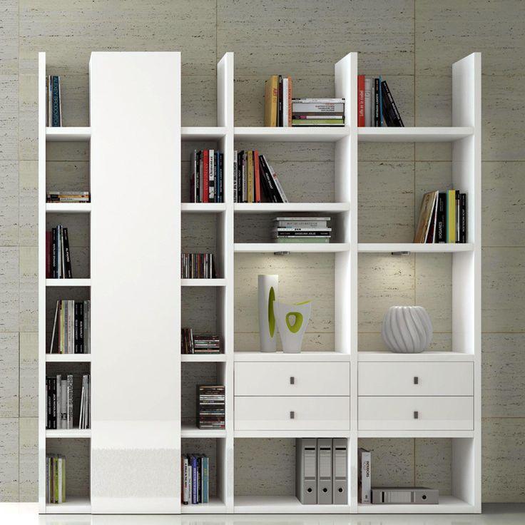 Die besten 25+ Cd regal weiß Ideen auf Pinterest Cd \ dvd regale - wohnzimmer eiche weis