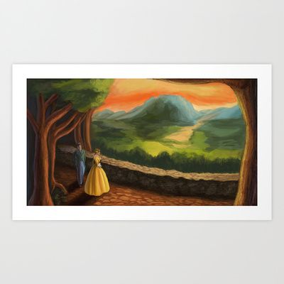 Scene from Carmilla Art Print by Nick Helton - $17.68