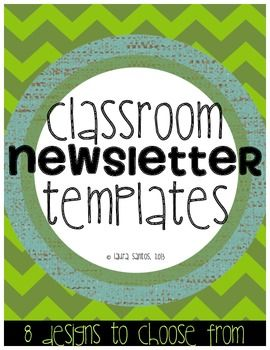 classroom newsletter templates useful school ideas pinterest