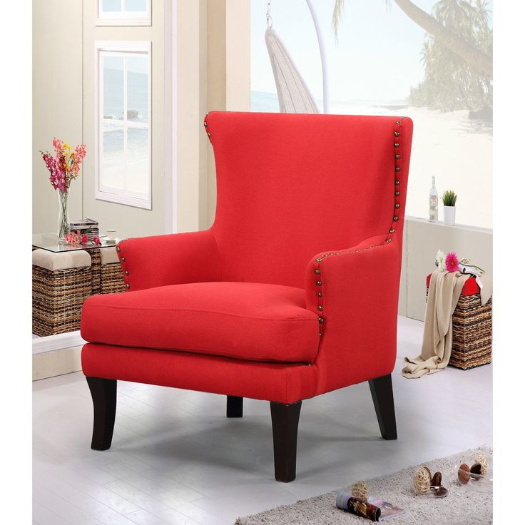 Best 25 Red accent chair ideas on Pinterest Grey and red living