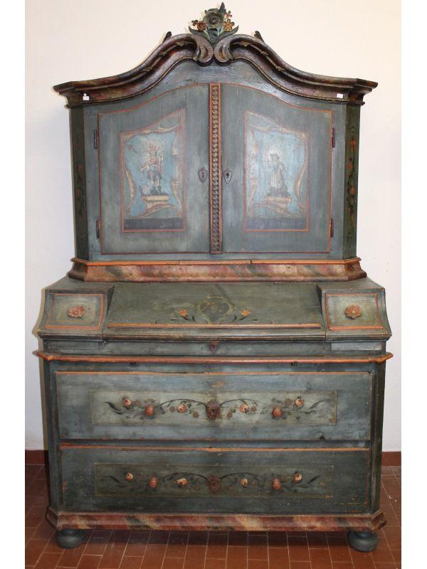 Oltre 25 fantastiche idee su mobili dipinti su pinterest - Mobili dipinti tirolesi ...