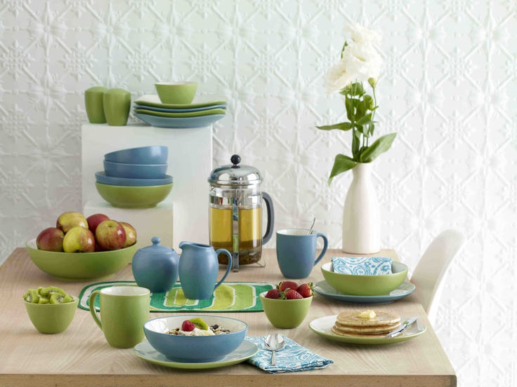 Mix and match with new Noritake Colourwave dinnerware