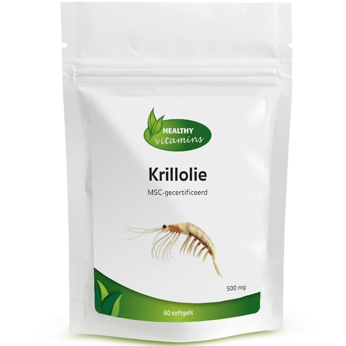 #Krillolie is olie dat afkomstig is van de kleine schaaldieren krill (Euphausia superba), die op een duurzame manier uit de oceaan van Antartica wordt gehaald. Krill bevat: Omega-3 krillolie, fosfolipiden en astaxanthine. Het voordeel van onze capsules is dat ze GEEN vervelende nasmaak of oprispingen geven na inname, daarnaast zijn ze MSC gecertificeerd (duurzame goed beheerde visserij). Prijs per 60 softgels: €24,95