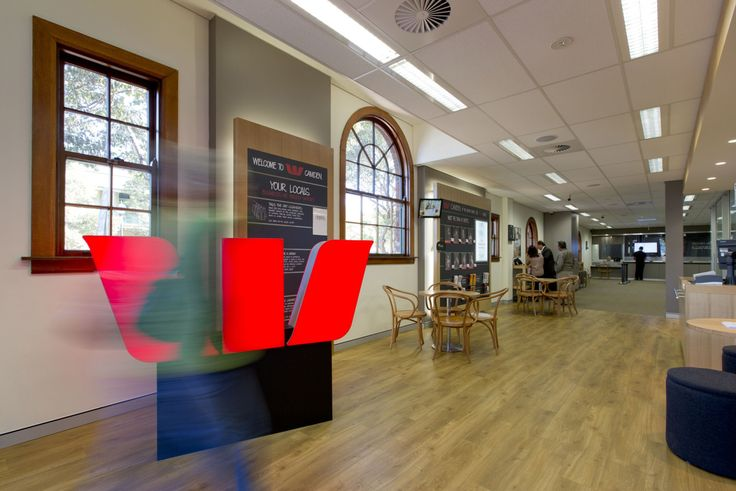 Interior photography of Westpac, Camden for BTF projects. Photography by Burrough Photography.