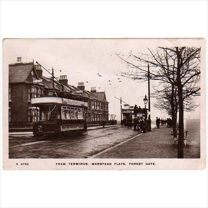 London East: Tram Terminus, Wanstead Flats, Forest Gate - Trams in view on eBid United Kingdom