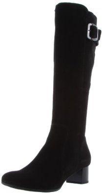 La Canadienne Women's Jada Knee-High Boot,Black,8 M US La Canadienne. $397.95