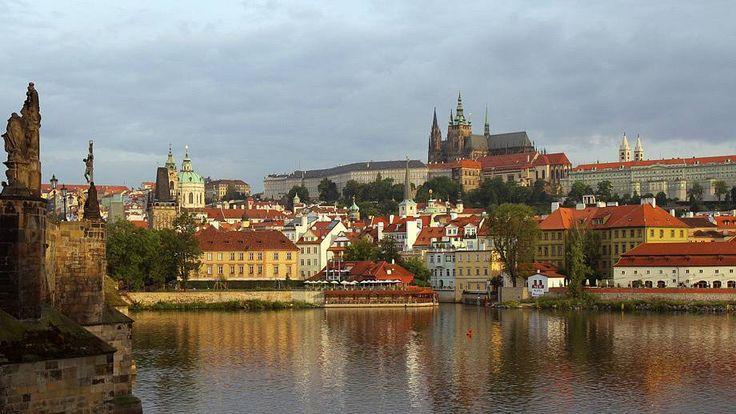 Panorama of Hradčany and Prague Castle