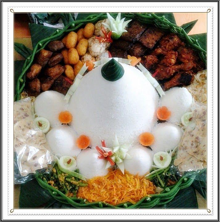 *** karşıLama ***: Bentuk dan Variasi Tumpeng Nasi Putih