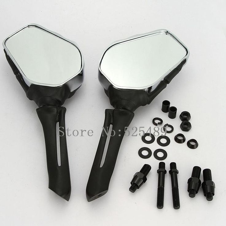 68.38$  Watch here - http://alixa8.shopchina.info/go.php?t=32748123438 - 2x CNC Skull Hand Motorcycle Rearview Side Mirrors For Honda Kawasaki Yamaha Suzuki Benelli KTM Cruiser Chopper Dirt Pit bike  #aliexpressideas