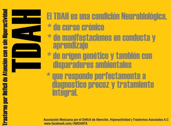 ¿Que es el TDAH?