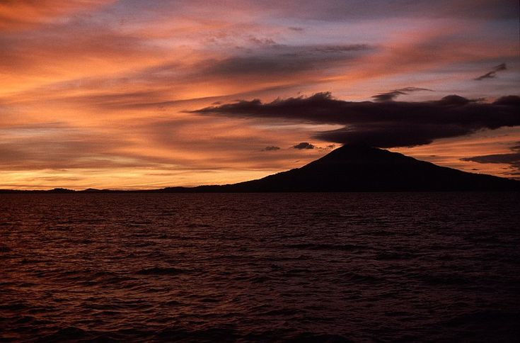 nicaragua | Bello atardecer en el gran lago de Nicaragua