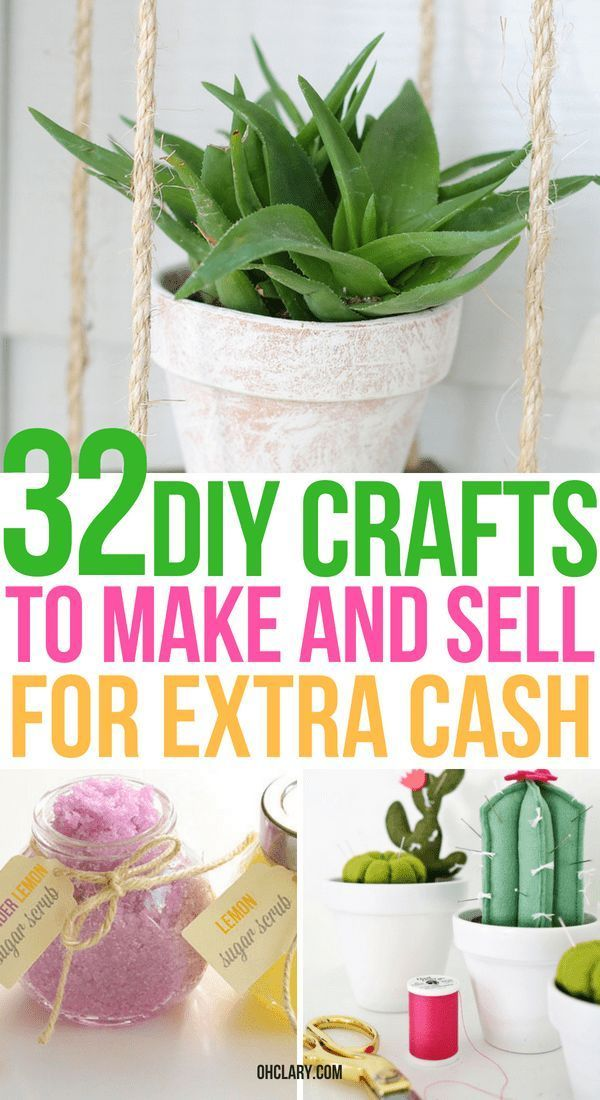 11+ Crafts to make and sell 2020 ideas in 2021