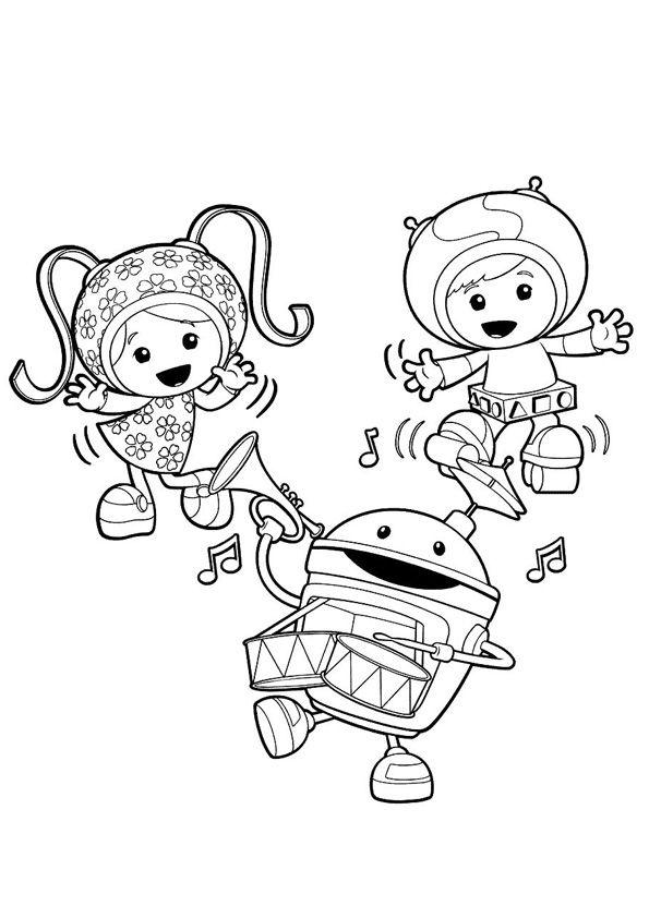 Pinterest Free Printable Team Umizoomi Coloring Pages For Kids Coloring Pages Coloring Pages For Kids Team Umizoomi