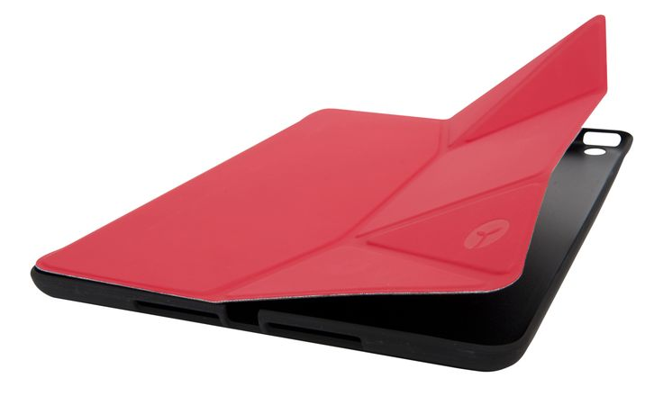 Sprout CoverMate Morph iPad Air is specifically designed to suit your iPad with a combination of hard protective polycarbonate and flexible polyurethane for both protection and enjoyment while reading, watching or typing. #case #cover #sprout #freedomtogrow #device #ipadair #apple #teamapple #ipad #red #sproutinc #technology