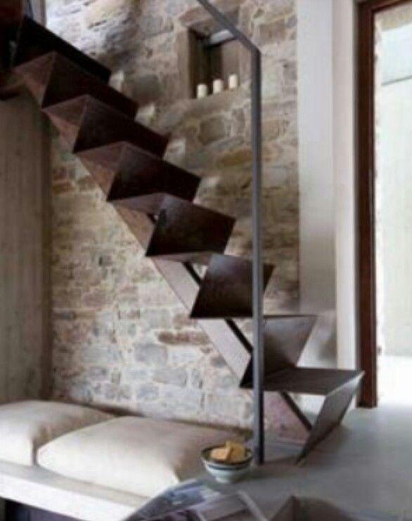 Stairs stairs pinterest scale scale interne e - Progettazione scale interne ...