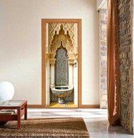 Adesivo per porte Fontana Mosaico
