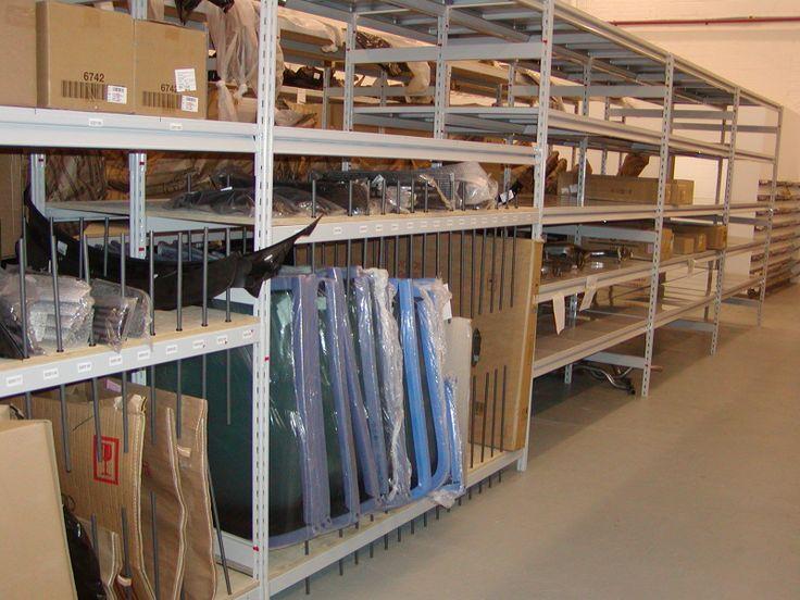 Automotive parts storage