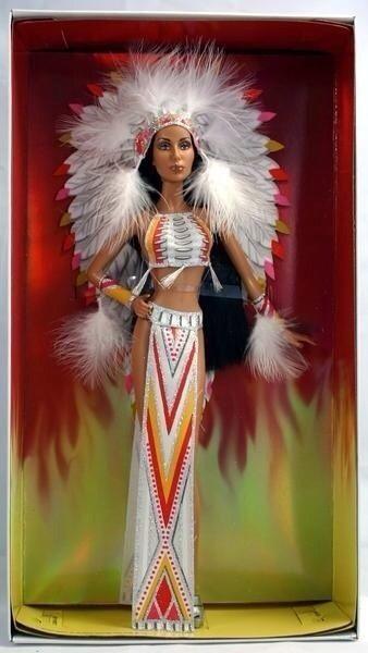 Bob Mackie Cher Barbie Doll #DollShopsUnited