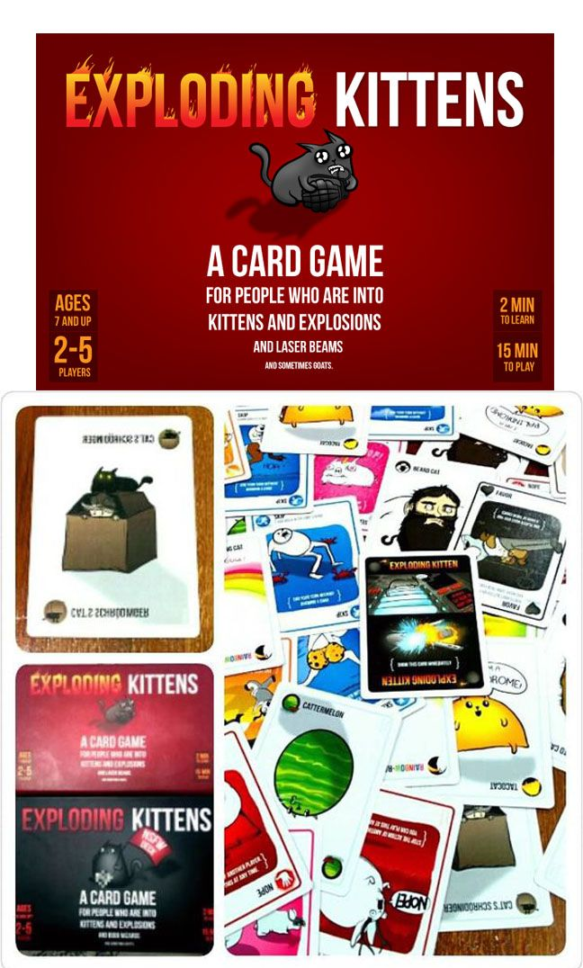 Exploding Kittens Is A Kitty Powered Version Of Russian Roulette