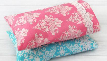 Pillowcase Pattern - How to Make a Pillowcase with French Seams