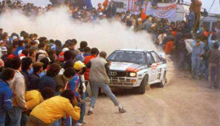 Terrifying Onboard Video of a Rally Race in the 80's