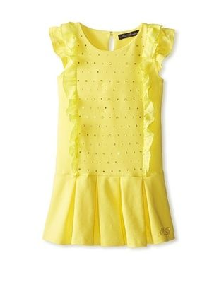 48% OFF Blumarine Girl's Ruched Dress (Yellow)
